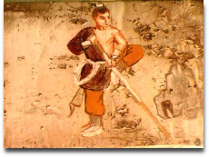Shaolin dharma hall painting
